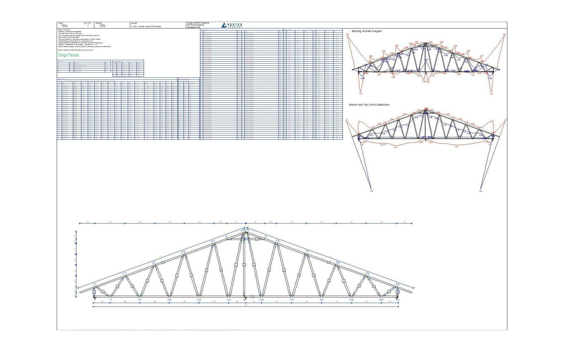 Vertex BD Truss Engineering