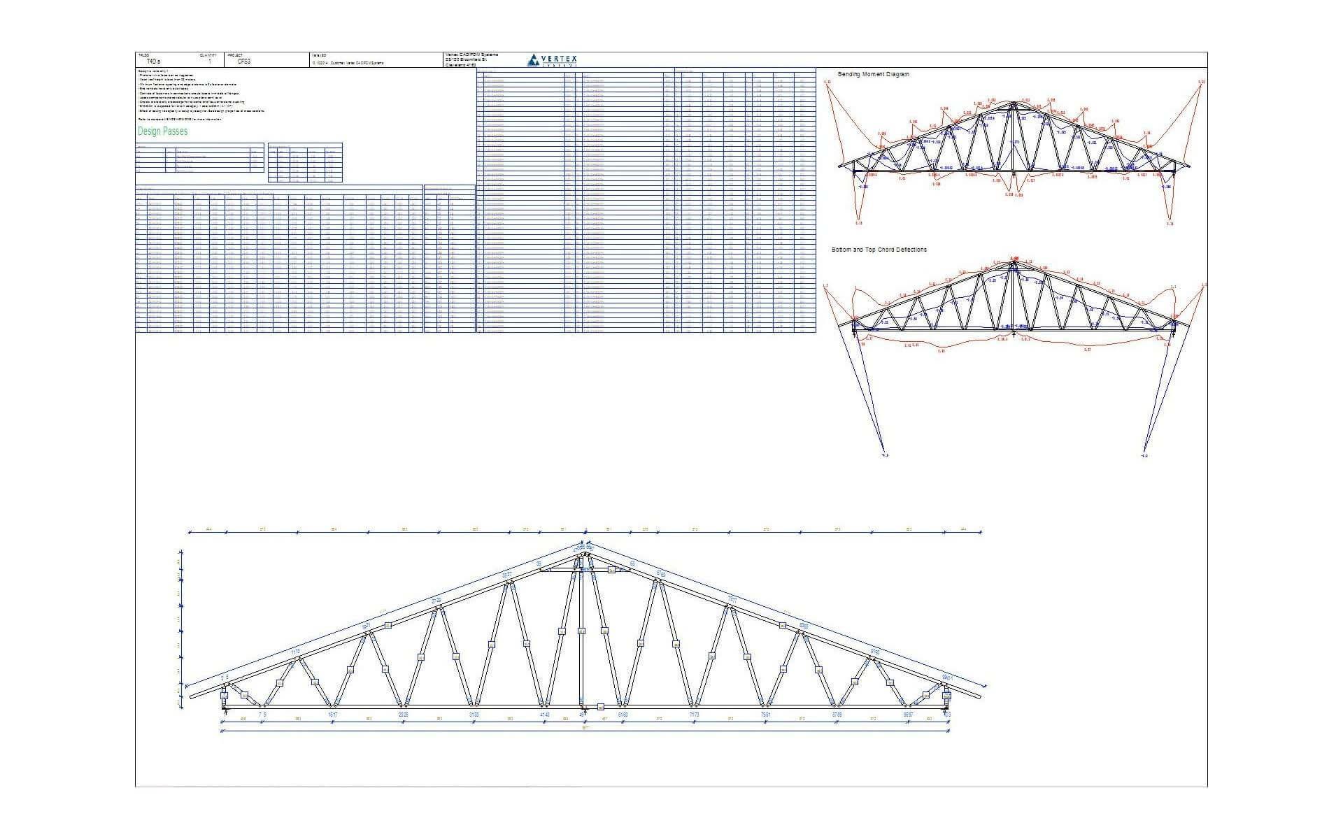 Vertex BD Truss Engineering