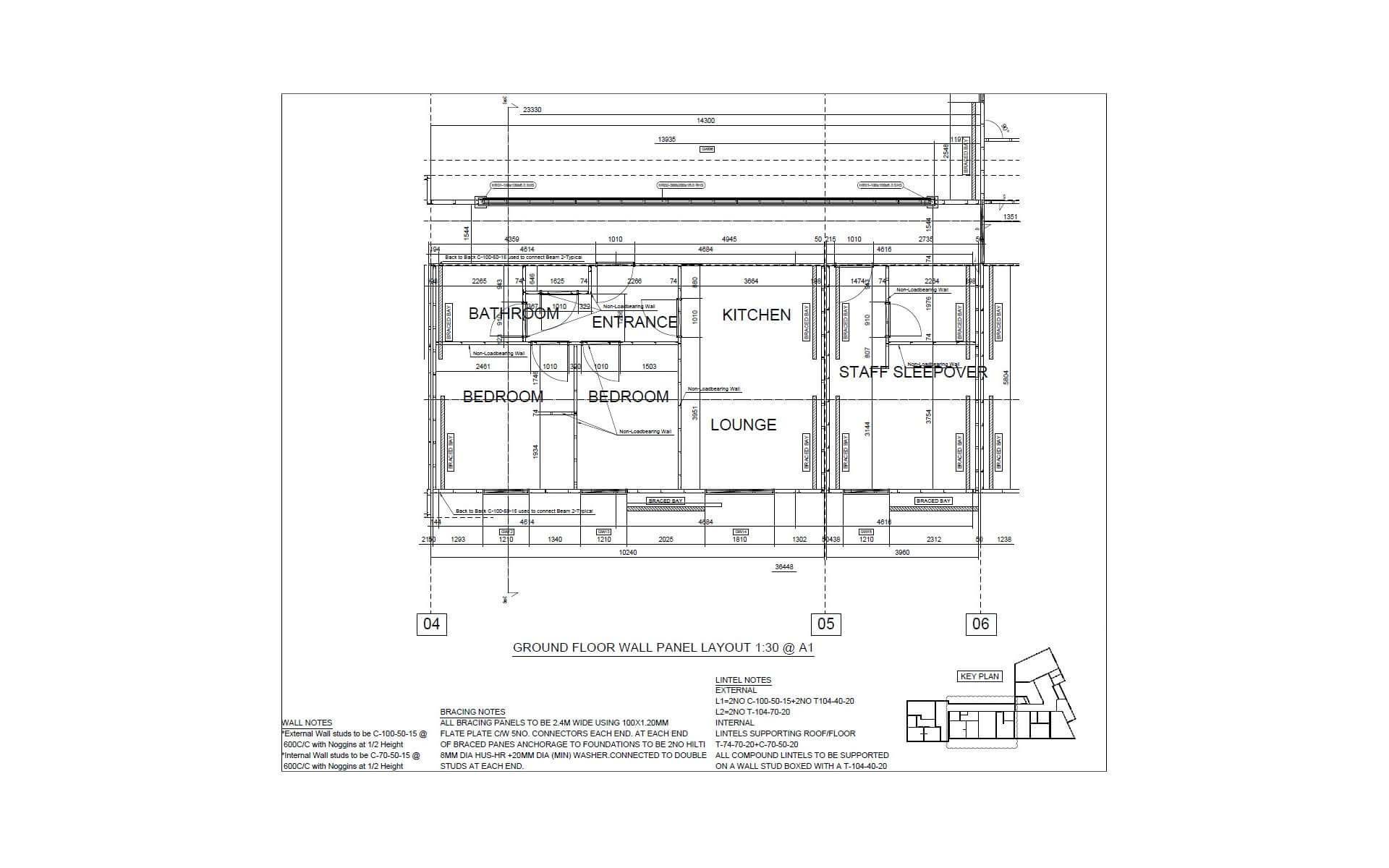 Vertex BD Wall Panel Layout