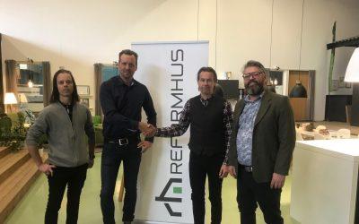 Reformhus ansluter till Vertex-teamet